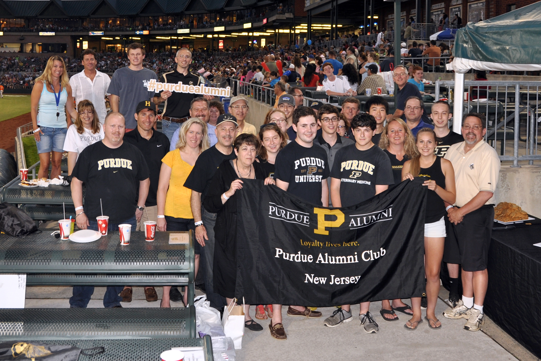 Purdue NJ at the Somerset Patriots, July 2015